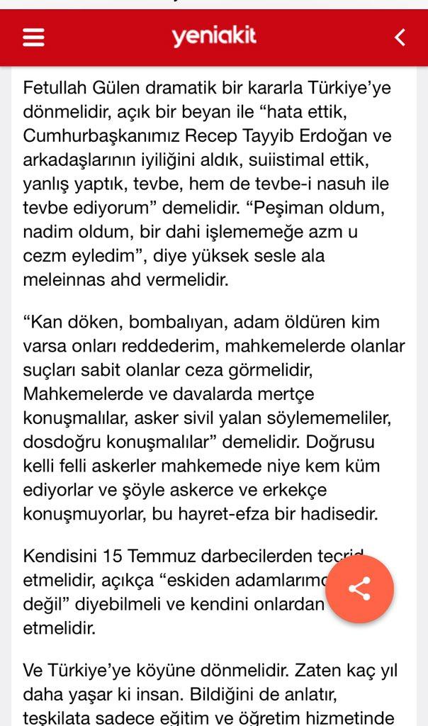 """Ali Aktaş on Twitter: """"Prof. Dr. Yusuf Ziya Kavakçı, Akit'ye benim ..."""