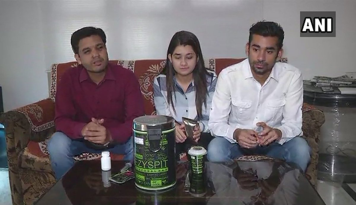 Nagpur: Prateek Malhotra, Ritu Malhotra & Pratik Harde have developed a product in which people can spit & carry it in their pockets as the pouch absorbs saliva, say it is to keep environment clean. Product is made with paper, pulp & polymer & got a national patent, recently.