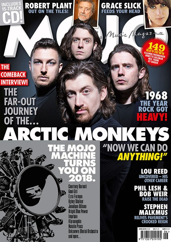 It's the first @ArcticMonkeys interview! The most revealing yet with Alex Turner. All there is to know about the new album, plus The Matt Helders Rod Stewart Vomit Incident. Exclusively in the new MOJO magazine https://t.co/qaaLr1TMhR