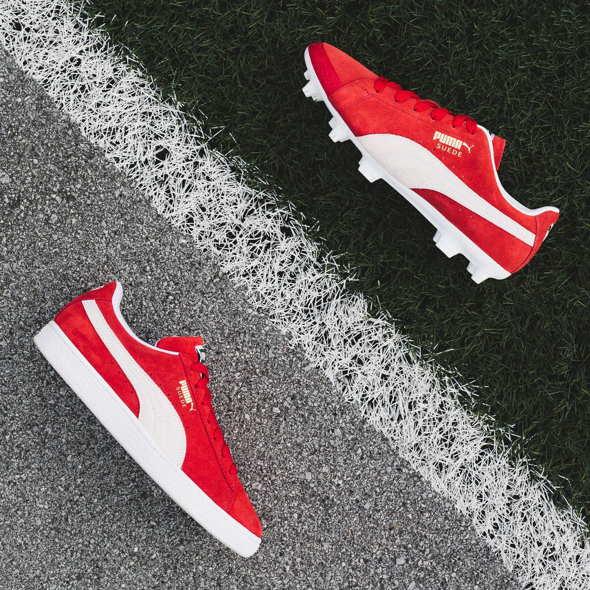 ceda4af9b Celebrating the 50th Anniversary of the iconic Suede is the FUTURE Suede 50  Pack. Exclusively available at: http://eu.puma.com/de/de/suede-50 .