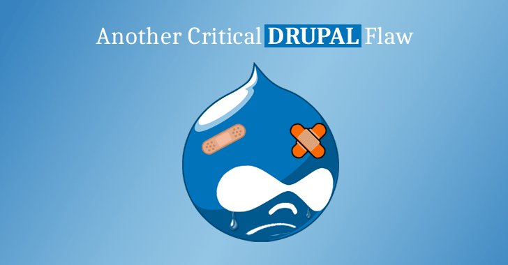 Another Critical Vulnerability Discovered In #Drupal Core—Patch Your Websites Immediately  https://t.co/5iXMGaBALG  For the Second Time Within a Month, Drupal Flaw Could Have Left Thousands of Sites Open to Cyberattacks