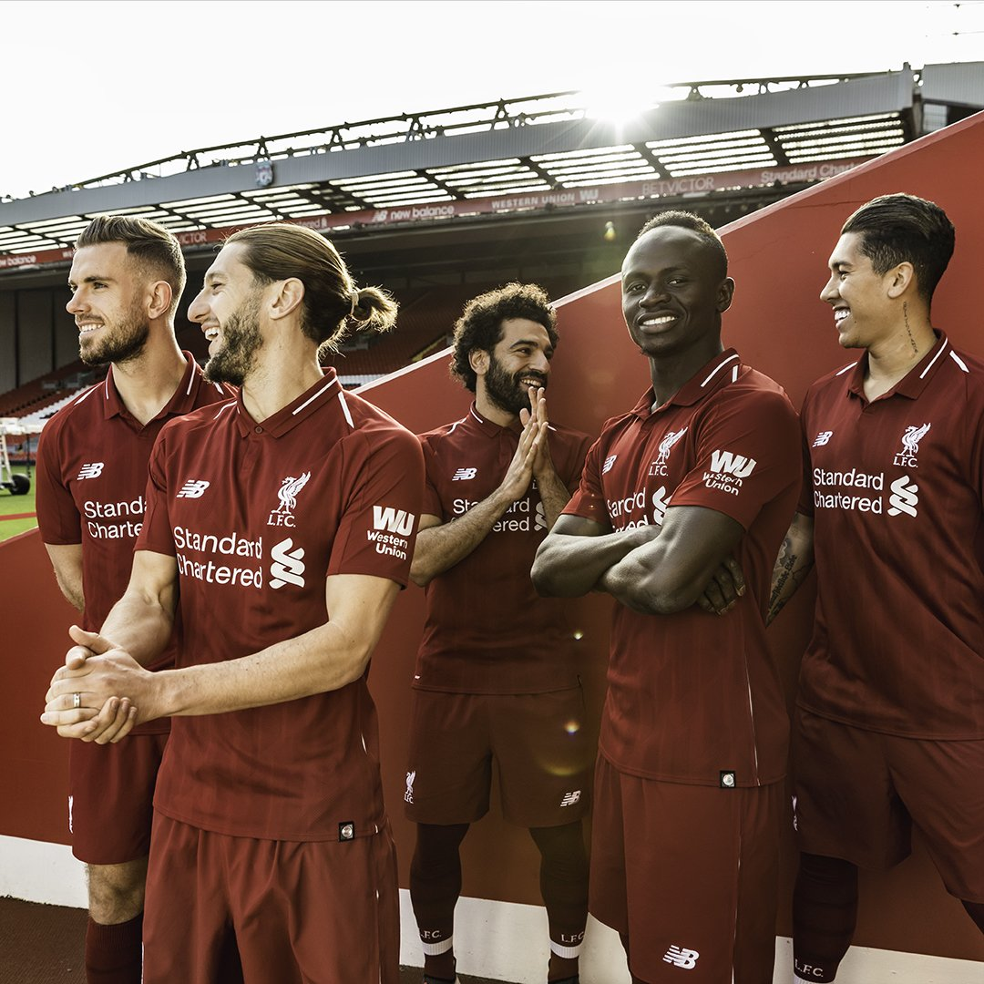 Reds together. Introducing our new 2018/19 Home Kit. 🔴  https://t.co/HQ4Syxw7Z4  #ThisMeansMore