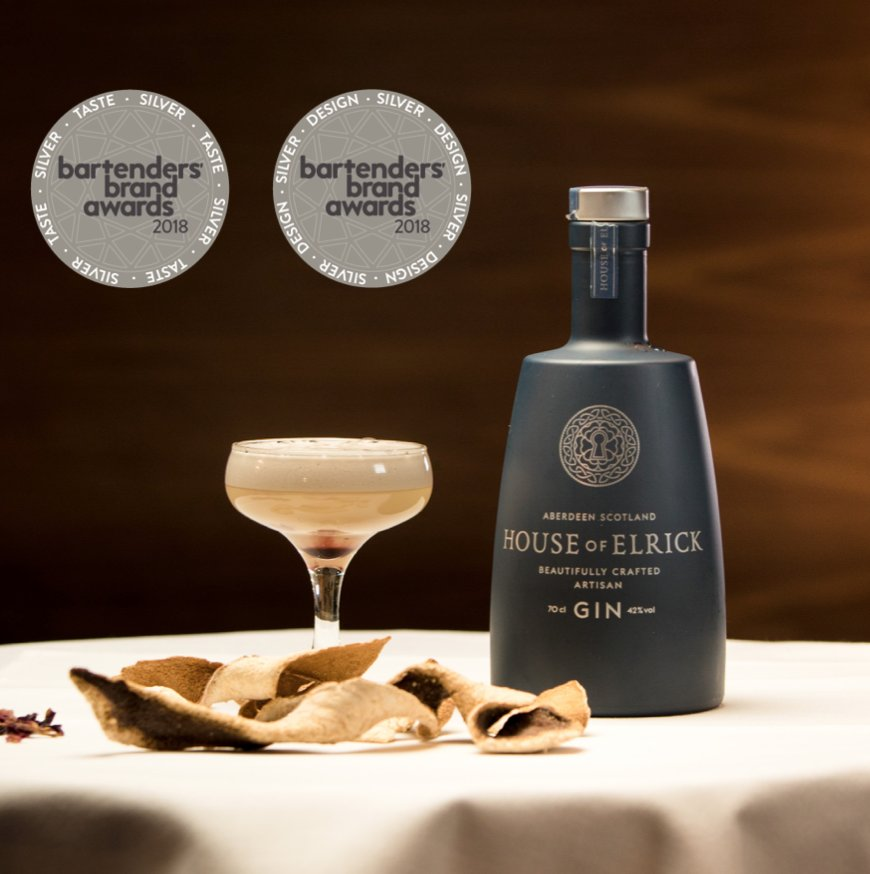 House Of Elrick Gin On Twitter Delighted With Our Awards In Blind