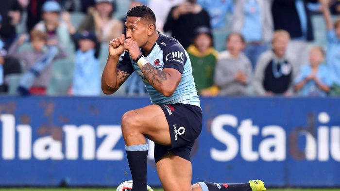 As Israel Folau defends anti-gay comments, is an end to his rugby career the most likely outcome? (PIc:AAP): https://t.co/BJ6Sa0rEWs #Wallabies @ThisSteveWilson
