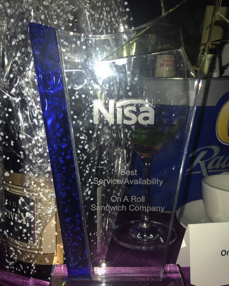 We are still delighted to have won the Best Service/ Availability award the the @NisaRetail expo last week! For more information on what we can supply to your Nisa store get in touch!   #fmcg #foodies #foodtogo #food #sandwiches<br>http://pic.twitter.com/zt8LP33N2V
