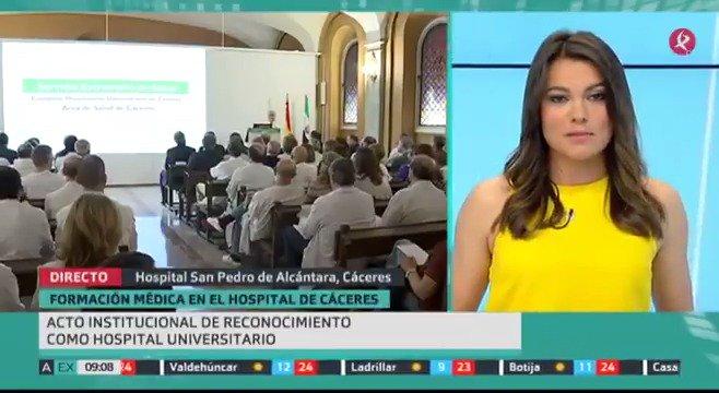 El hospital San Pedro de Alcántara acaba de recibir el reconocimiento como