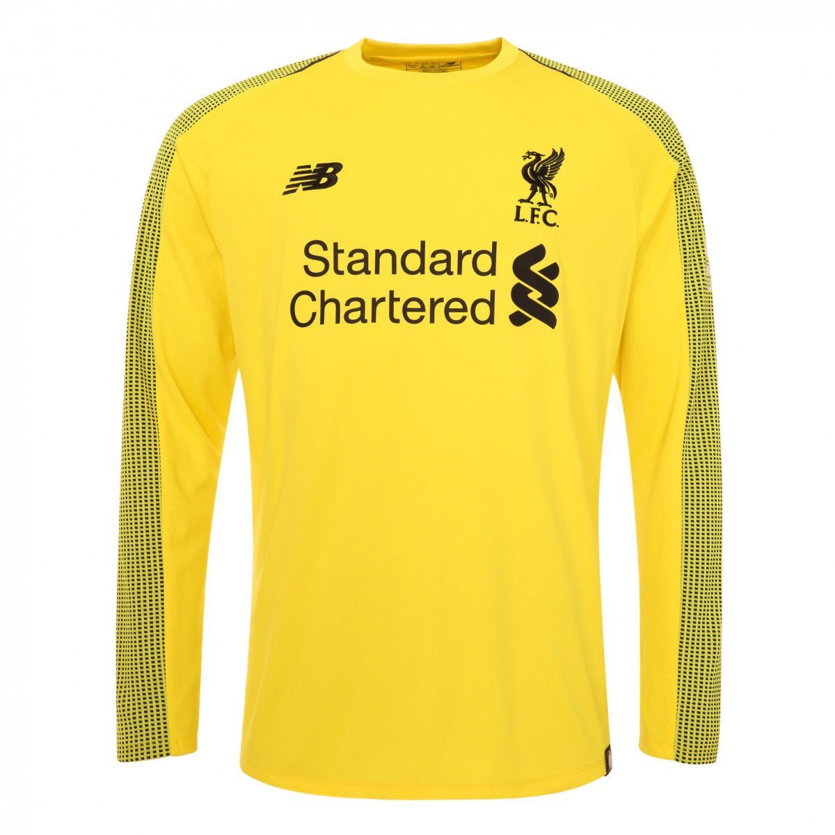 fc06fa85e Liverpool Football Club 2018 19 Goalkeeper Home Kit.pic.twitter .com aahXkr7FwJ