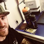 Optomising in-flight hydration with @Lee_johnston13 as he travels to Japan with @HondaRacingCBR for pre season testing. #TORQFuelled #Superbike #Honda #Testing
