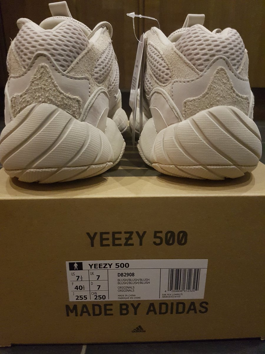 b33a5fa6b4dec SIZE 7 UK ONLY Free 1st class delivery DM with serious offers only  yeezy   yeezy500  yeezy500blush  kaynewest  adidas  soldout  BNIB  deadstock ...