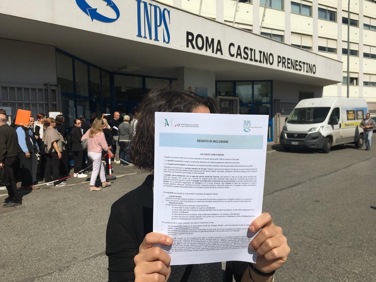 test Twitter Media - #18a #roma #Inps Casilino Prenestino #tuttinfila nel Lazio il #rei è stato erogato solo a 8.110 famiglie mentre ben il 27% della popolazione regionale è a rischio #povertà #RedditoSubito @INPS_it https://t.co/HDOHp0X7Ht