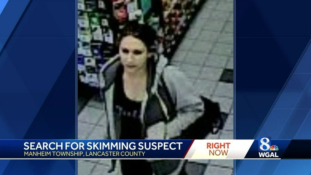 Police looking for woman they say put skimming device on atm