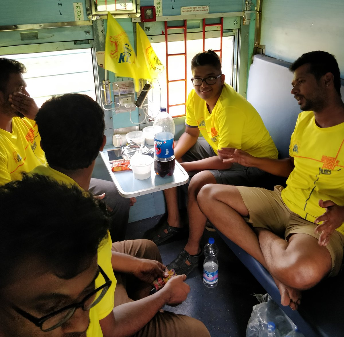 IPL 2018: CSK Arranges Special Train for Fans to Watch 'Home' Matches in Pune 1