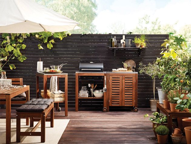 good homes magazine on twitter the warmestdayoftheyear has got us dreaming of summer barbecues and soaking up sun rays in beautiful backyards - Garden Kitchen