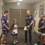 We've won the toss and will kick off #proudtobeabulldog #NRLBulldogsRoosters