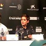 """#SINFIN, @laleonademaria: """"Si comparo mi carrera profesional con la película, sigo viajando con mi mejor compañero, mi profesión"""" #21FestivalMálaga"""