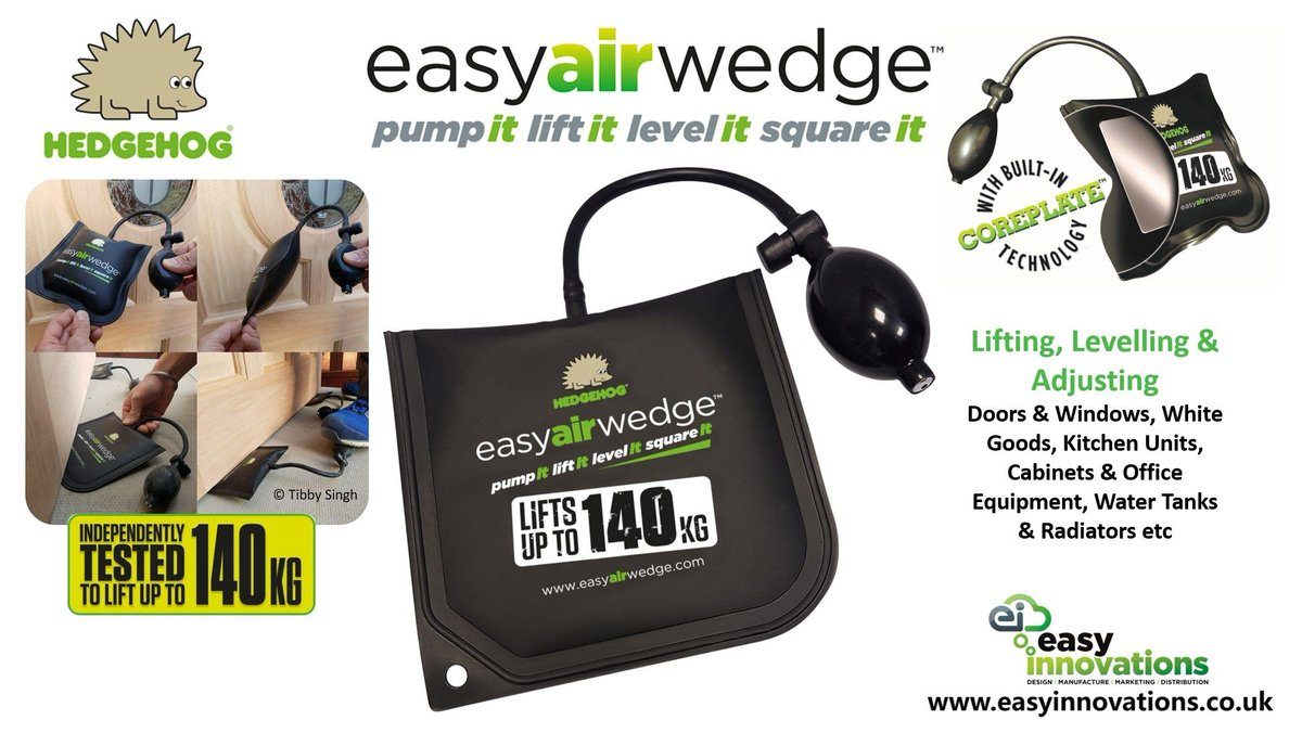 Easy innovations ltd on twitter have you discovered the hedgehog hedgehog easyairwedge for yourself once you do youll wonder how you ever did without it in your toolbox httpeasyinnovations solutioingenieria Image collections