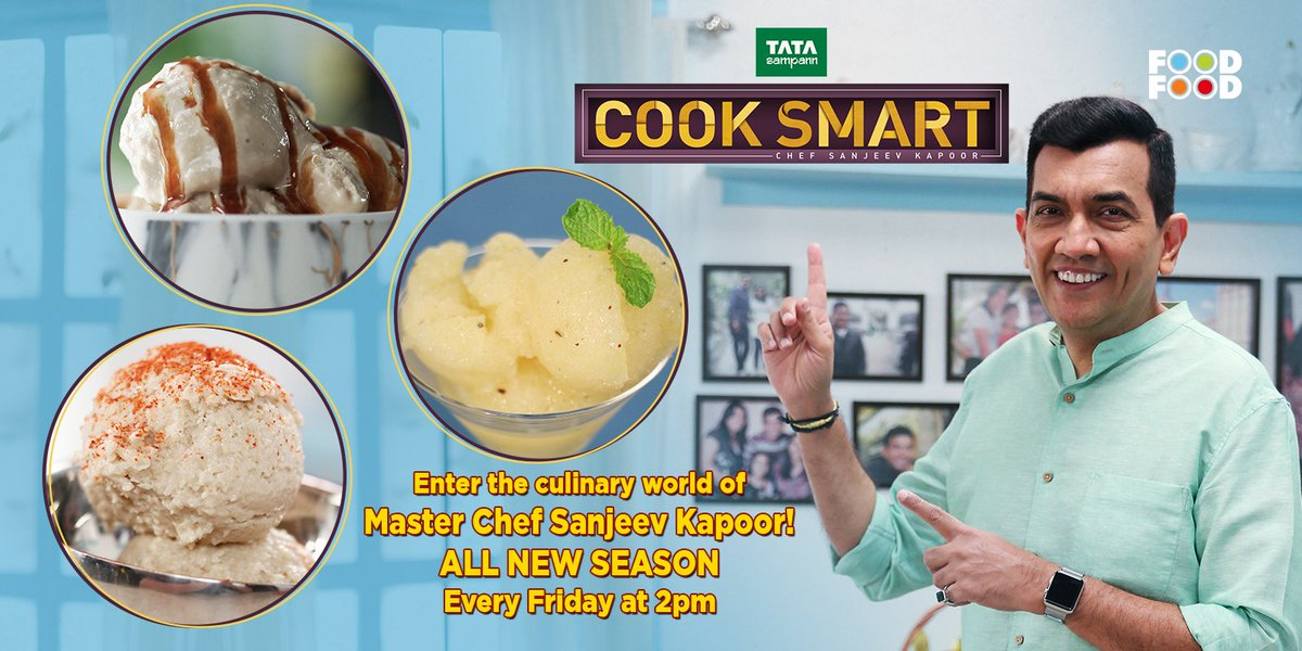 Cooksmart hashtag on twitter beat the heat by these special ice cream recipes by masterchef sanjeevkapoor on cooksmart tomorrow at 2pm only on foodfood channel 1 aam panna sorbet forumfinder Choice Image