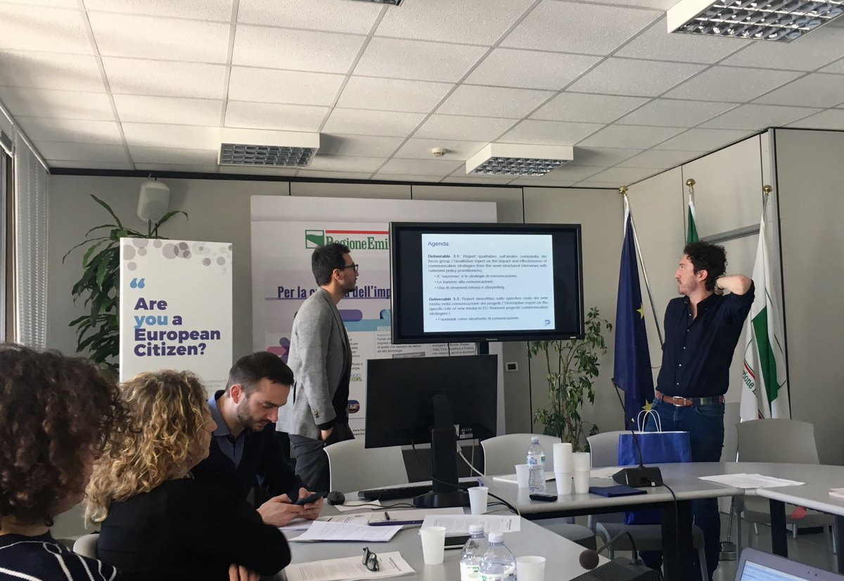 @lucapareschi: what about #CohesionPolicy communication strategies? How the overall communication is organized? What are the barriers? #H2020 #InvestEUresearch<br>http://pic.twitter.com/PxJsRDbCuZ