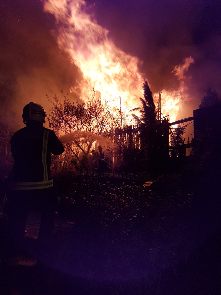 #ThisWeek a timber-framed outbuilding was destroyed by fire in North Hill, #Hornsey https://t.co/tQzmiiksLC