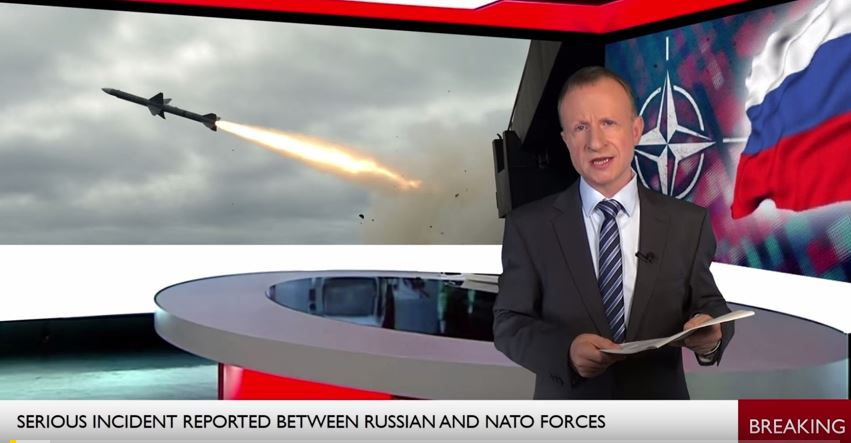 This video clip claiming to be a #BBC news report about NATO and Russia has been circulating widely, particularly on WhatsApp. We'd like to make absolutely clear that it's a #fake and does not come from the BBC. #fakenewsnews