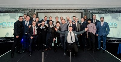 Former #electrical and #business #administration #apprentices with @ClarksonEvans celebrated achieving their qualifications at the firm&#39;s  #Apprenticeship Presentation Evening. #Glosbiz Read more:  http:// bit.ly/2HLXWqK  &nbsp;  <br>http://pic.twitter.com/yz08W4YGQC