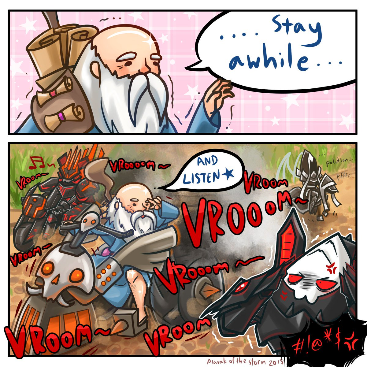 Alarak Of The Storm On Twitter This Old Dude Has Such An Epic Bundle Stay A While And Vroom Vroom Deckard Heroic Bundle Https T Co Czw7fpe4bx Https T Co I5viocwtxk The weathered old man generally. vroom vroom deckard heroic bundle