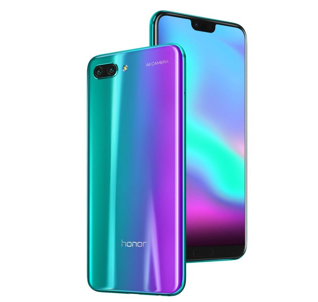 Honor 10 Launched with Notch Display