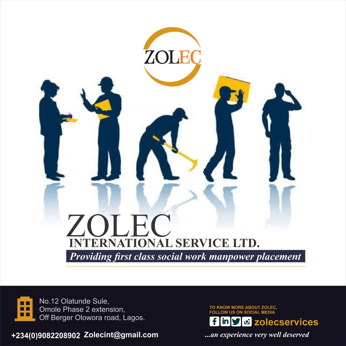 Zolec International Services on Twitter: \