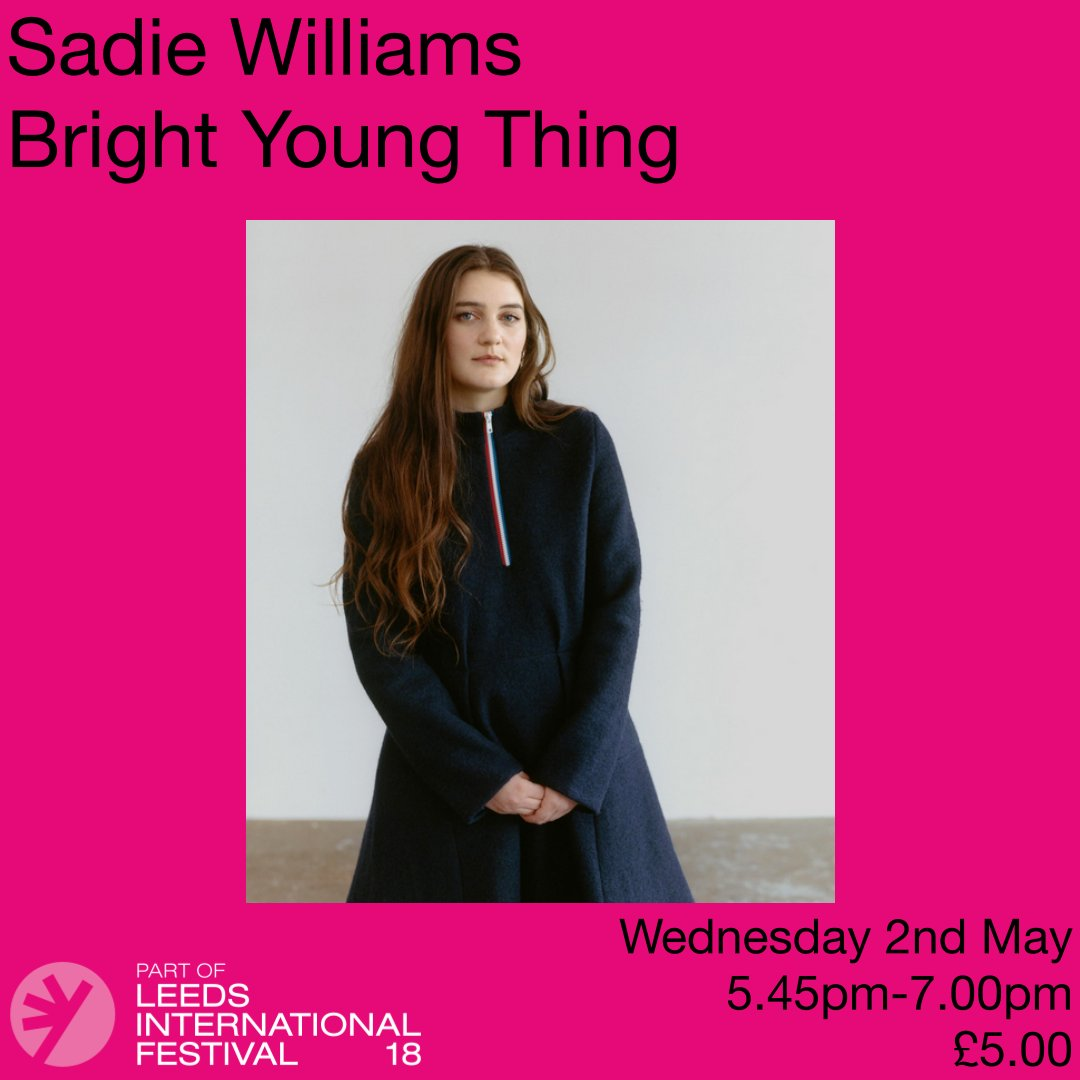 We'll be talking with @SadieWilliamsUK, the bright young thing at @LeedsIntFest on Wednesday 2nd May, check here for more info and tickets https://t.co/NEykXtq9HS @LeedsBID #fashion #leedsintfest #leeds https://t.co/enXEeAYuJq