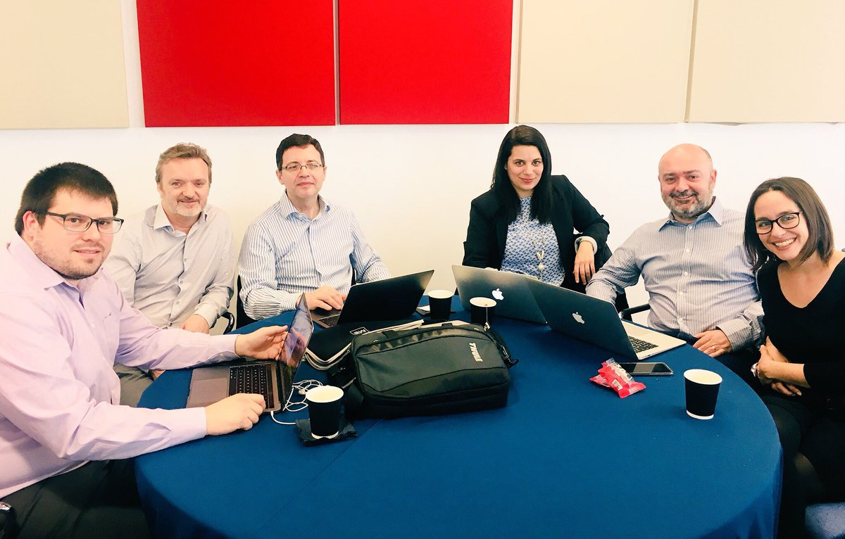 Today @mceub @campusvirtualUB @UniBarcelona @hospitalclinic in Annual Meeting of @TALKdebriefing #clinicaldebriefing #H2020 in Cardiff @lshubwales Barcelona Group contributing to it  @MSCActions. Check our web  http://www. talkdebrief.org / &nbsp;  <br>http://pic.twitter.com/O5f1ACd7S2