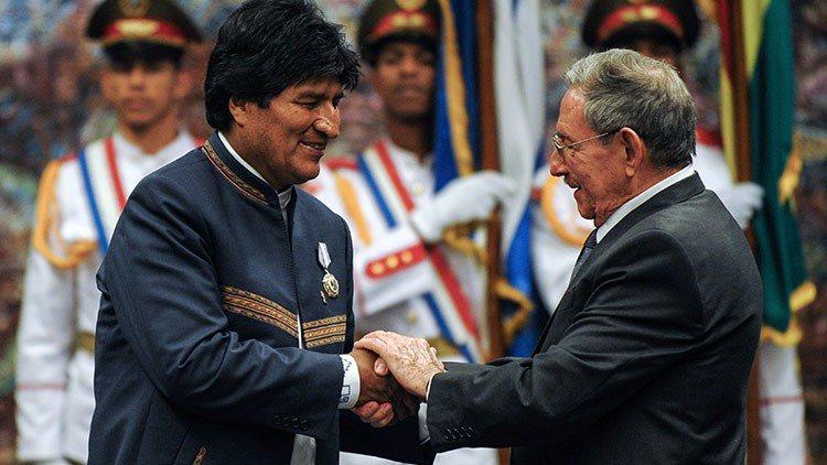 Evo Morales Ayma's photo on Raúl Castro