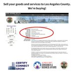 #Summer is around the corner & @CountyofLA is ready! Looking for someone to provide #food for @lacountyparks program. Could your #smallbusiness do it? Must attend mtg today. Don't let these opportunities pass you by again. Get registered & certified now! https://t.co/h460vhfksy