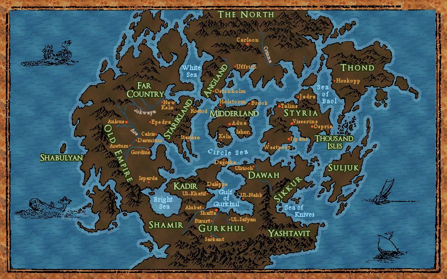 the first law world map Joe Abercrombie On Twitter Someone Made The Map Of The First Law