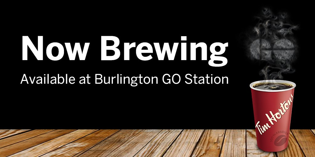 Go transit on twitter pick up your grand opening invitation at medium coffee at the burlington station tim hortons one invitation per person valid from april 25 to may 1 2018 location open monday to friday from stopboris Gallery