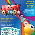 Image for the Tweet beginning: Do you play #JackpotBingo @