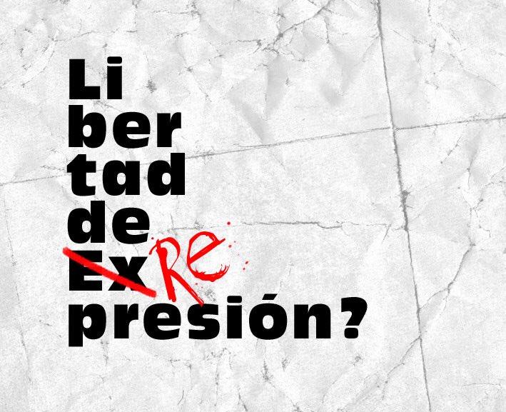 #LibertadExpresion https://t.co/lo0uczes...