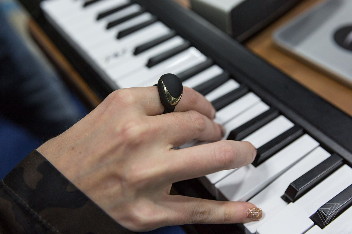 Enhancia's wireless MIDI ring for musicians is now on Kickstarter