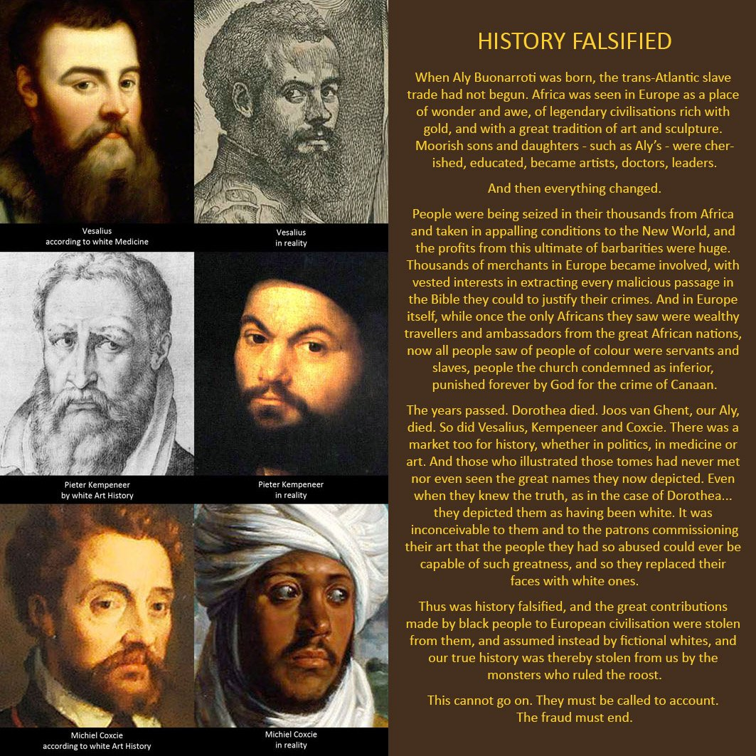 WHITEWASHED! Black and brilliant - so historians said they were white... Rediscovered after centuries, a powerful and moving story of black resistance and ultimate victory. Just $3:  http://www. amazon.com/dp/B06Y1H4XH4  &nbsp;          #incredible #fascinating #marvellous #believe<br>http://pic.twitter.com/NLLUe2FwBx