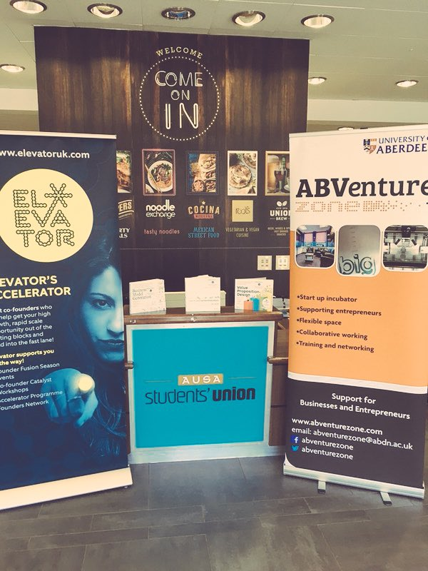 Get along to The Hub building on @aberdeenuni campus to hear more about our exciting @ElevatorUK Summer Accelerator opportunity. Explore your own business this summer. Deadline for apps closing soon! #accelerator #scaleup<br>http://pic.twitter.com/pySA4JDn9b