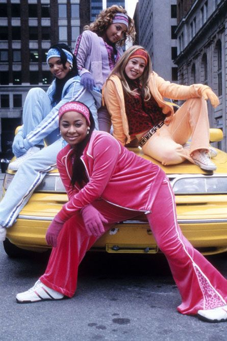 Current mood. (After talking about how @mhollowed, @LauraKHettiger and I all still own our velour sweatsuits from the 2000s).  #N4TM <br>http://pic.twitter.com/eEo1TWfE6Z