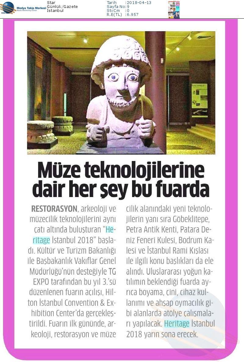 Heritage Istanbul On Twitter Star Cumhuriyet Daily Sabah Ve
