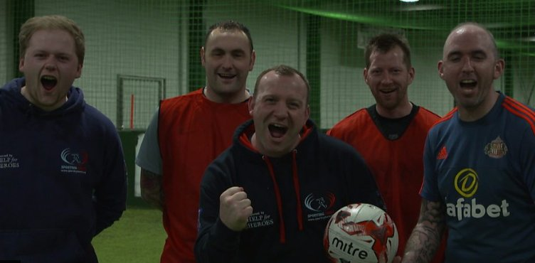 Former army soldier Tommy Lowther has told @bbcgetinspired how he set up @SportingForce, a five-a-side #football team for war veterans who have Post Traumatic Stress Disorder.  Here ➡ https://t.co/2dkCIx4SAg #FAPeoplesCup #GetInspired
