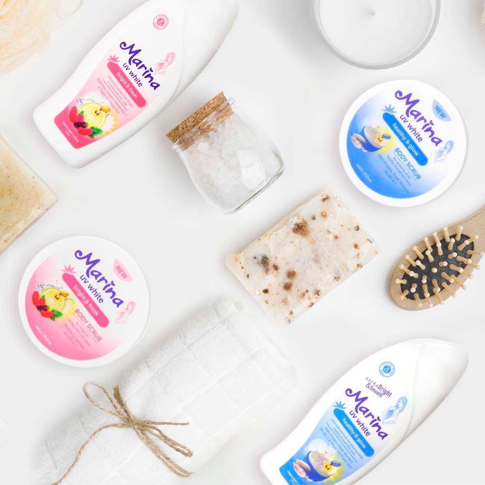 Marina Body Scrub Bright Fresh Daftar Harga Terkini Dan 200ml Source 500 Am 19 Apr 2018