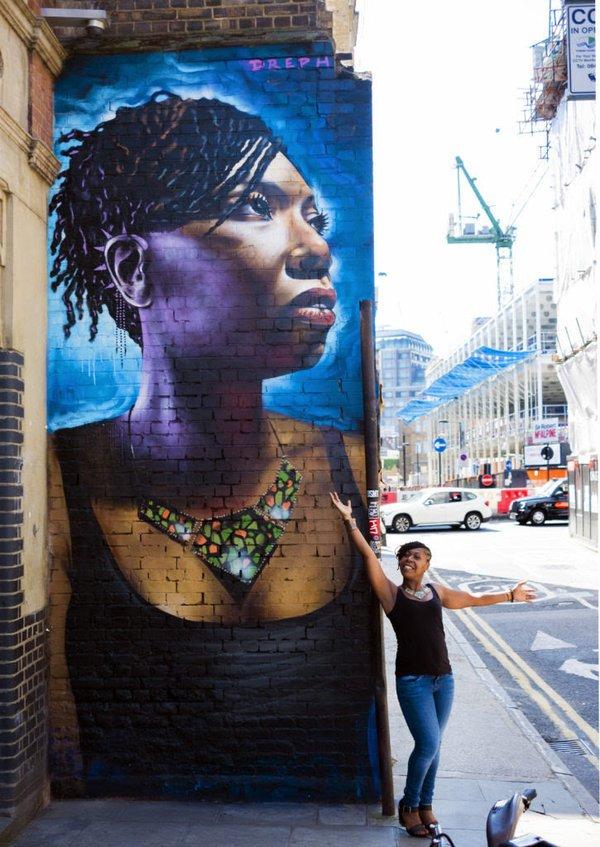 #StreetArt selfie  Dreph, Londres <br>http://pic.twitter.com/zzatbGhoSR