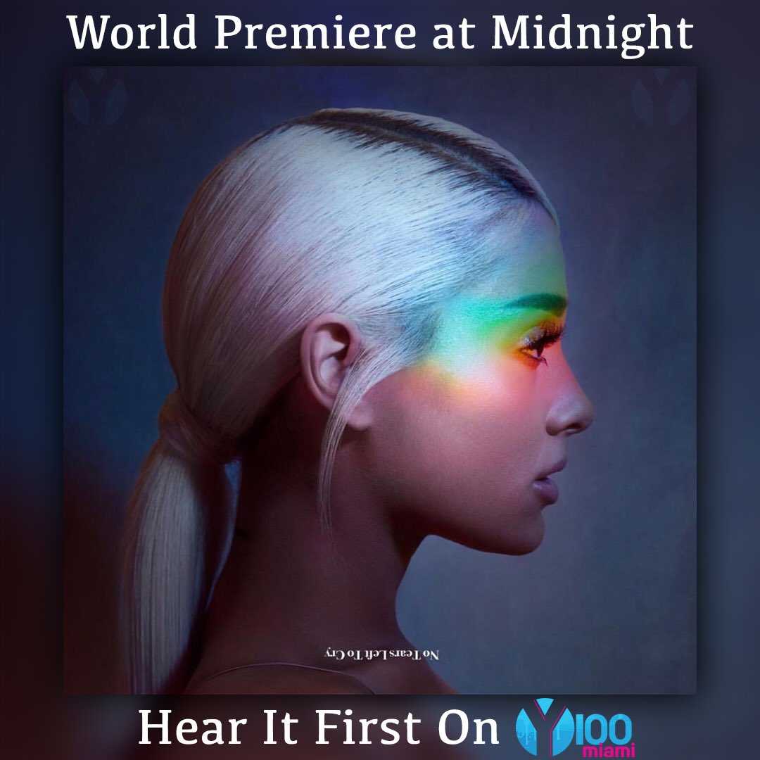 We've got the @ArianaGrande #NoTearsLeftToCry WORLD PREMIERE tonight at midnight!! 🚨🚨🚨https://t.co/54KOSu7laW