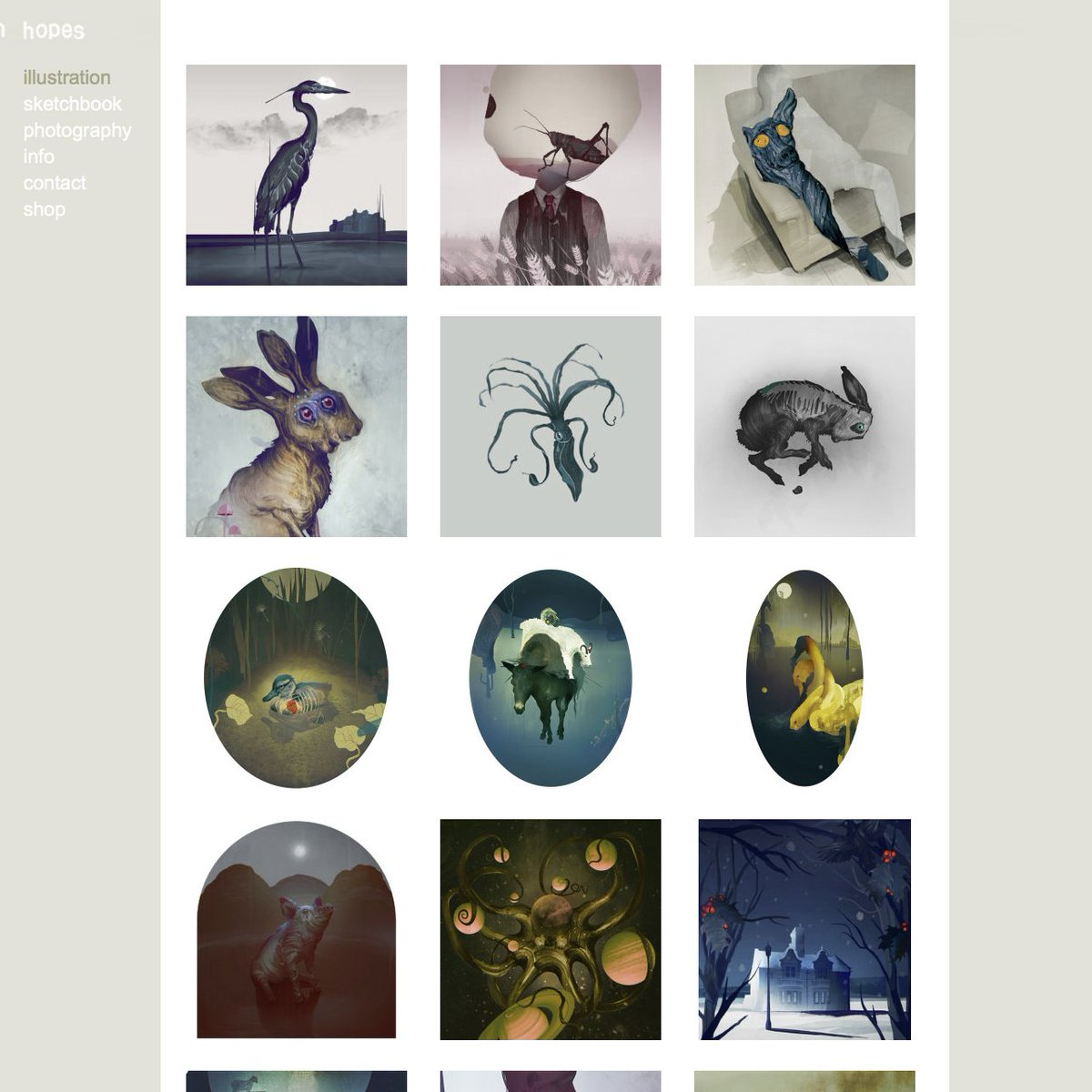 Updated my #website with new images in the #illustration and sketchbook pages. Also added a photography page which I will add to over time as I continue work on a very long running project.<br>http://pic.twitter.com/pvtL7ajMsO