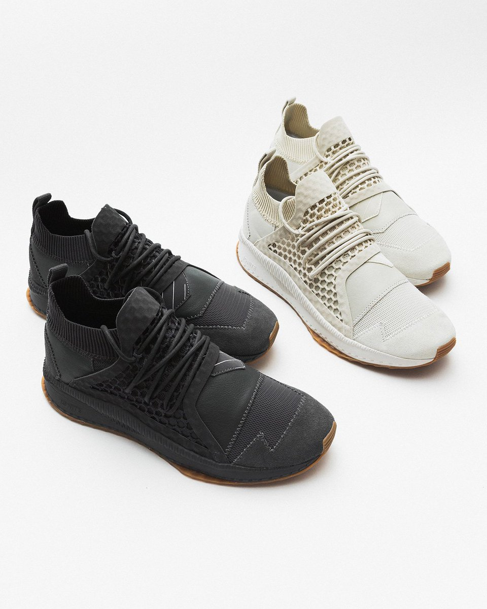 "36773dbb6f8c Puma x Han Kjobenhavn Tsugi Netfit ""Asphalt""   ""Silver Birch"" are now  available in-store and online. The second season focuses on simplicity and  ..."