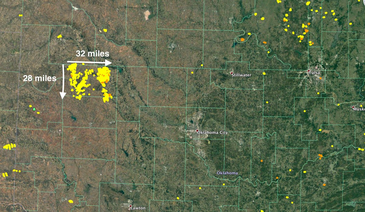 Rhea Fire Map.The Massive Rhea Wildfir Thebradsowder Brad Sowder S Tweet