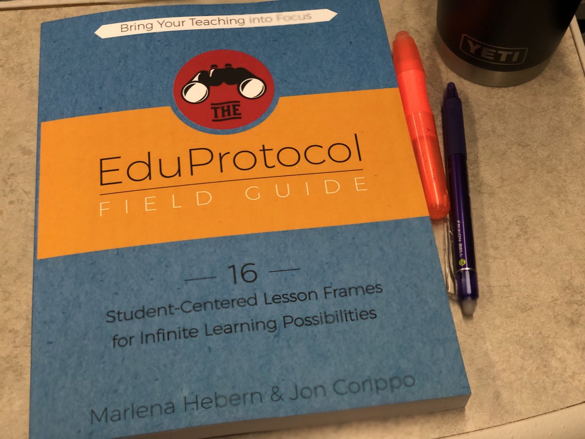 On train to LA for professional growth with @CSC_LosAngeles- finally start reading this book. I ordered it after feeling inspired by @jcorippo on @MyTechToolbelt .  the organization of book &amp; actionable items it provides #eduprotocol #cue #edupodcast #podcast #mytechtoolbelt<br>http://pic.twitter.com/cVXzo5ZpLI