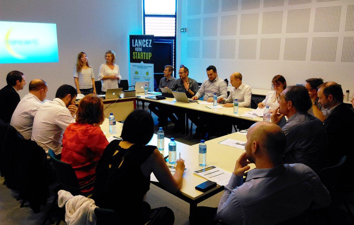 Début du comité de #sélection @Ndie_incubation à #Caen ! Bon courage aux #projets 💪 #innovation #startup #incubation #accompagnement https://t.co/YYtVlyTaSu